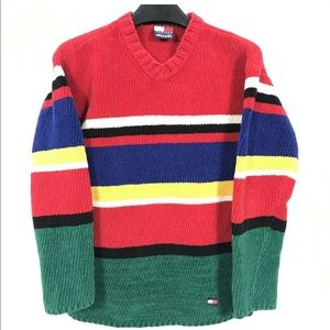 Vintage Tommy Hilfiger Sweater Capsule Colorblock